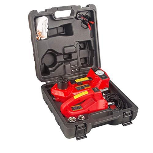 QINAIDI Elektrohydraulischer Wagenheber 3T - Wagenhebersatz Mit DREI Lampen (Aufblasbar + Wagenheber + Lampe) Reparaturwerkzeugsatz Mit Elektrischem Schlagschrauber