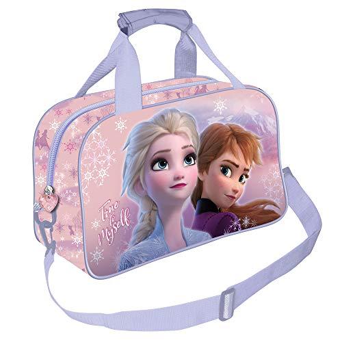 KARACTERMANIA Die Eiskönigin (Frozen) Wind-Sporttasche, Mehrfarbig, Einheitsgröße