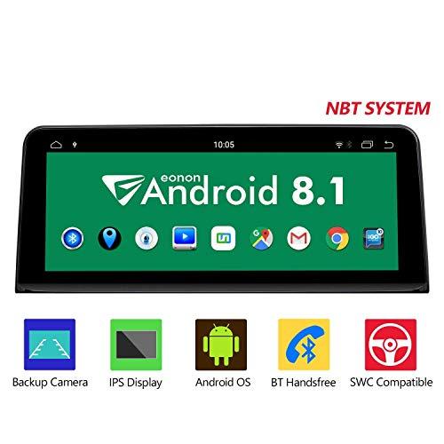 eonon GA9203NB Android 8.1 Fit BMW F30 F31 F34 F35 F32 F33 F36 (2013~2017) 2G RAM 32G ROM 10.25' HD touch screen GPS compatibile iDrive NBT sistema volante di fabbrica autoradio DVD Bluetooth