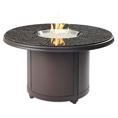 Why Choose The Outdoor GreatRoom Company Beacon Chat Height Fire Pit Table with Electronic Ignition ...