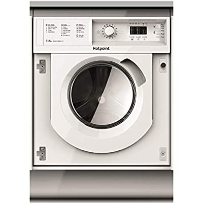 HOTPOINT BIWDHL7128 7kg Wash 5kg Dry 1200rpm Integrated Washer Dryer - White
