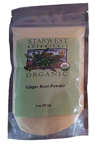 Ginger Root Powder Organic - 3 oz