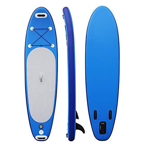 NgMik Tabla De Surf Inflable Prima Sup Inflable Stand Up Paddle Board Conjunto 76CM De Ancho Extra Estable Azul Estable (Color : Blue, Size : 305x76x15cm)