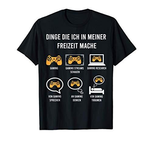 Witziges Gaming Geschenk zocker Spruch Zocken T-Shirt
