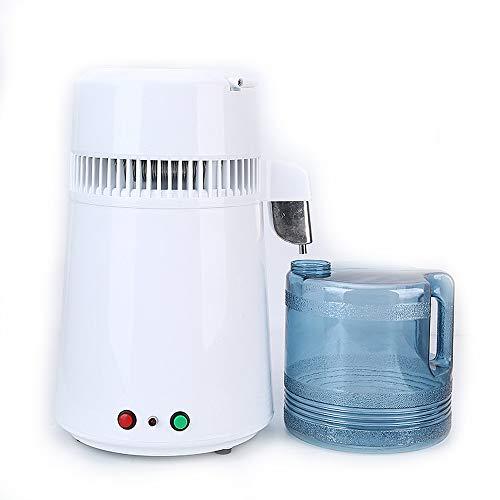 Wasser-Destillierapparat Machine, The Best Water Purifier-Maschine Mit Glaskaraffe, Von Make Wasser Rein, Most Effective VOC-Entfernung, (4L)