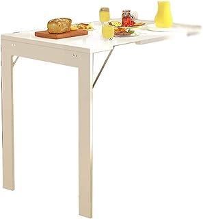 Tables HAIZHEN Pliable Murale Pliante à abattant, Bureau de Salle à Manger Multi-Fonctions Invisibles télescopiques Statio...