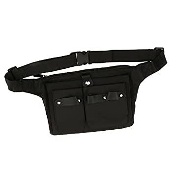 Toygogo Salon Stylist Carry Case Hairdressing Scissor Clip Comb Waist Bag Belt Pouch