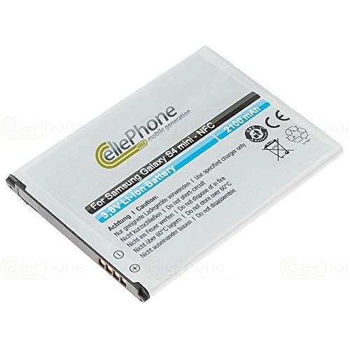 cellePhone Akku Li-Ion kompatibel mit Samsung Galaxy S4 Mini (GT-I9190) (Ersatz für EB-B500BEBECWW) - mit NFC