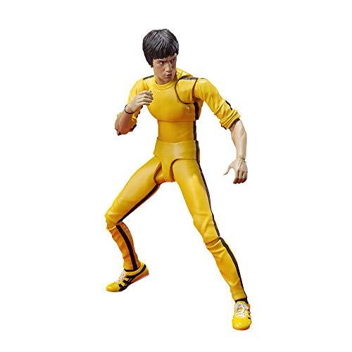 Bruce Lee SammelfigurenModel Figur Statue Spielzeug für Dekoration Desktop 15cm Boxed Figure
