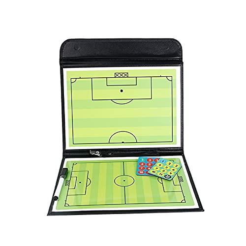 ZIYI Magnéticas Tablero de Tácticas,Carpeta Pizarra Táctica,Campo de fútbol simulado,Entrenamiento y Juegos de demostración (44 * 32 cm,53 * 32 cm)