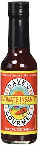 Dave's Gourmet - Ultimate Insanity Chili Sauce - 148ml