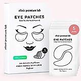 Elixir Under Eye Patches - Collagen Under Eye Gel Pads for Bags, Puffy Eyes, Anti-Aging effect, Moisturizing Dark Circle Eye Treatment for Women & Men - Korean Under Eye Mask, 5 Pairs