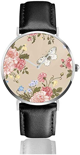 Seamless Floral Pattern with Bouquet of Colorful Flowers on a White Ba