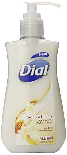 Price comparison product image Dial Liquid Hand Soap,  Vanilla Honey with Protein Packed Yogurt