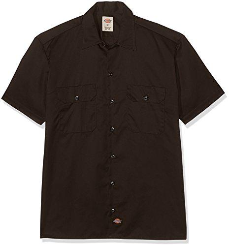 Dickies Button-Down Shirt XXXXL Dunkelbraun