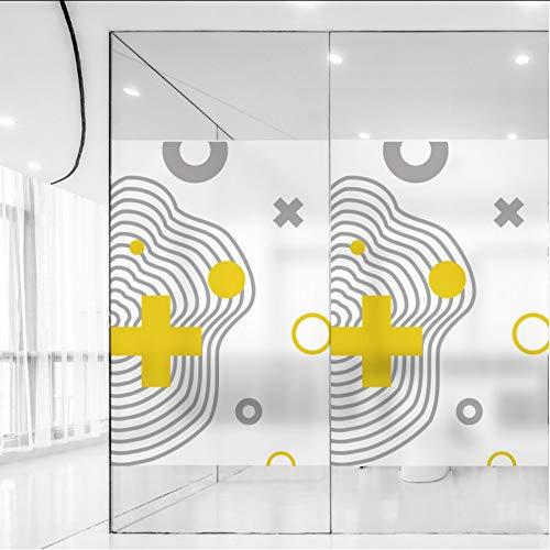 Djkaa glas in lood zelfklevende folie Polyethyleen PVC Frosted glas raamfolie ramen sticker 2019 BLT1383 Jane Eyre