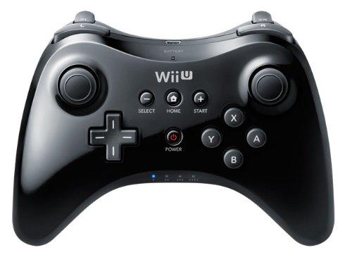 Wii U - Pro Controller, schwarz