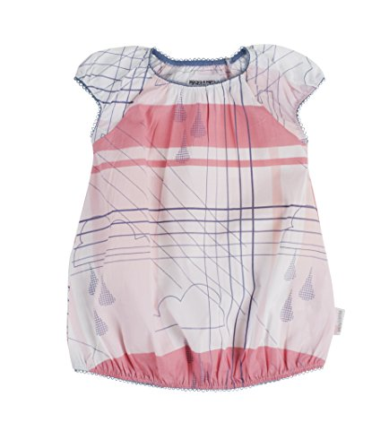 Phister & Philina Baby-Mädchen Evelyn Block Kleid, Mehrfarbig (Peony PEO), (Herstellergröße:68)