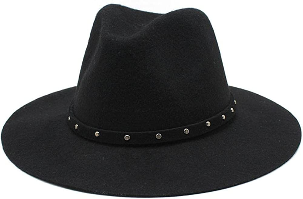 Women's and Denver Mall 2021 Men's Fedora Hat Classic Brim Elegant Wo Panama Wide