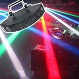 LYJNP Bühnenlicht 40W 8 LED RGBW 4 In 1 LED Sektor-Lichtstrahl Mit Signalleitung Für DJ Disco KTV Club Party