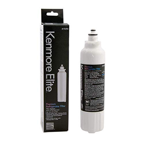 Kenmore ADQ73613402 LG Water Filter, 1 Count (Pack of 1), White