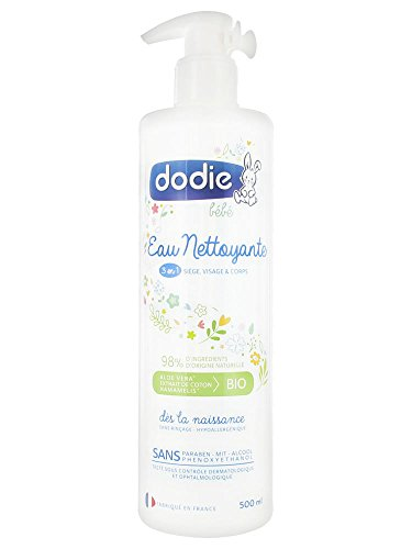Dodie - Eau nettoyante 3 en 1 -  500ml
