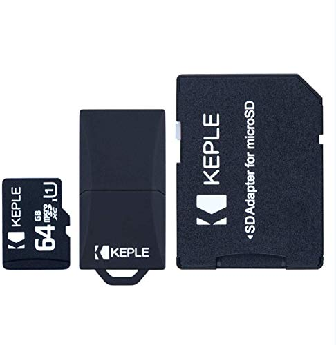 64GB microSD Memory Card | Compatible with Motorola Moto G7 Plus, G7, G7 Power,G7 Play, E6 Plus, E6, Z3, Z3 Play, E5 Play, E5 Play, E5 Plus, E5, G6 Plus, G6, Z4; One Vision, Zoom, Action, Power; P30