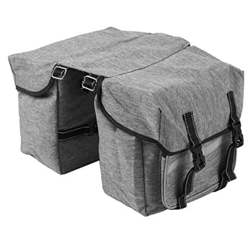 Amazing Deal ANXIANG After 25L Bicycle seat Canvas Bag, Bag-Sided Luggage Rack Tailstock panniers, B...