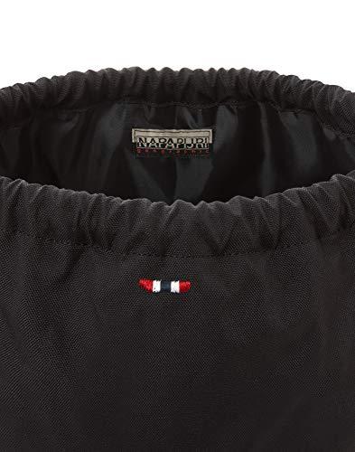 Napapijri HAPPY GYM SACK Casual Daypack, 42 cm, 18 liters, Black