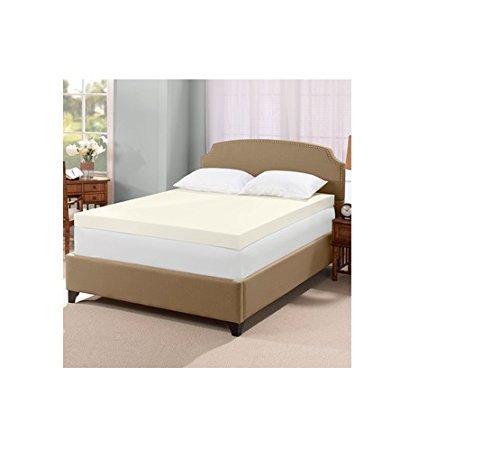 serta mattress topper queen Serta Ultimate 4 inch Visco Memory Foam Mattress Topper   Queen  serta mattress topper queen