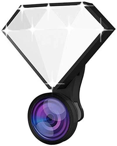 MEETGG Selfie Flash Led Clip-On, Kit di illuminazione per videoconferenze, luminosità regolabile portatile portatile lampada di riempimento luce video conferenza lavoro in diretta streaming
