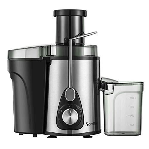 Mdsfe Dispenser di Acqua per Frutta per spremiagrumi Elettrico in Acciaio Inossidabile Hoa5ehold - SF5522, a1, a6