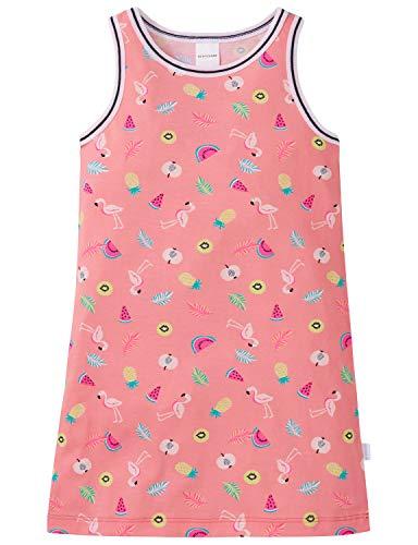 Schiesser Mädchen 0/0 Nachthemd, Gelb (Apricot 603), 98 (Herstellergröße: 098)
