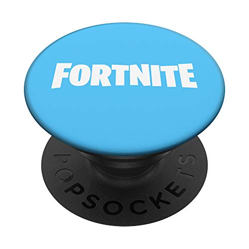Fortnite Fortnite Logo (Blue) PopSockets Stand for Smartphones and Tablets PopSockets PopGrip: Swappable Grip for Phones & Tablets