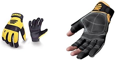 DeWalt Finger Framer Power Tool Glove - Grey/Black, Large (Size 9 1/2-10 )