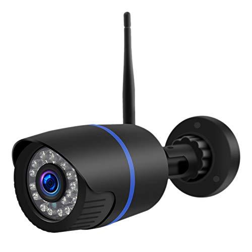 Baalaa Q4 CáMara de Vigilancia WiFi Voz Bidireccional Ip66 DeteccióN Nocturna Impermeable para el Hogar al Aire Libre Empresa al Aire Libre (Enchufe de la UE)