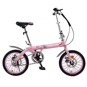 41dwwkD7lUL. SS300 Biciclette Pieghevoli Bici per Studenti Bici da Ragazzo Pieghevole da 16 Pollici Leggera Un Regalo per I Bambini