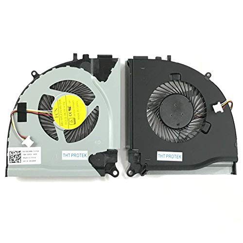 Kompatibel für Dell Inspiron I5, 15-158 7000 7557 7559 Lüfter Kühler Fan Cooler Links, Left