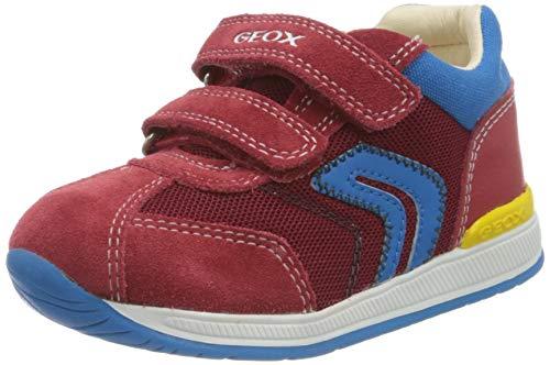Geox Jungen B RISHON Boy B Sneaker, Rot (Red C7000), 24 EU