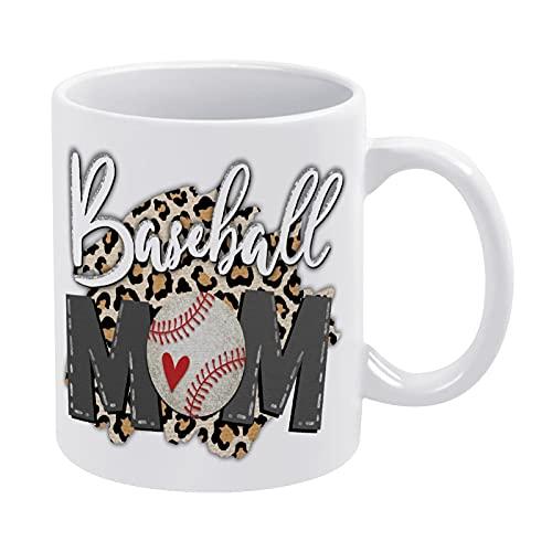 DKISEE E00851 Kaffeebecher, Baseball-Moma, Baseball-Clipart, zeremische Tassen für Mutter und Oma