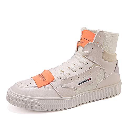 WGFGXQ Zapatillas Altas De Skate Zapatos De Lona Vintage Calzado Casual Transpirable...