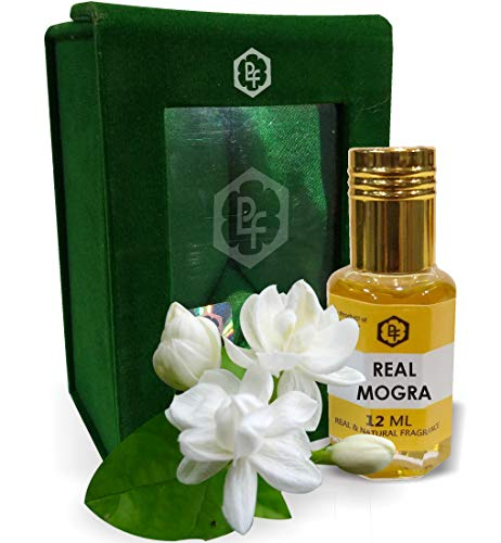 Parag Fragrances REAL MOGRA 12ML Real & Natural Attar, Best Attar For Man and Woman, 100% Alcohol Free & Long Lasting Attar