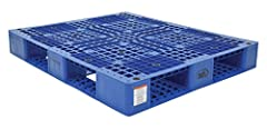 Made of high-density virgin polyethylene for long life Four-way entry offers convenient all side entrance Serrated deck with holes provides drainage in wet environments Virgin polyethylene construction is ideal for export, pharmaceutical, medical, an...