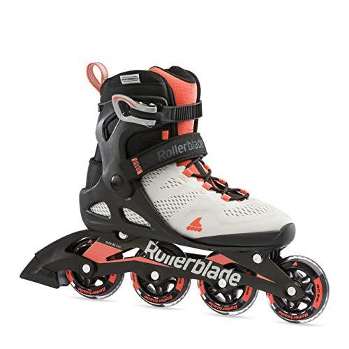 Rollerblade Damen MACROBLADE 80 W Inline-Skate, Gletscher GRAU/Koralle, 265