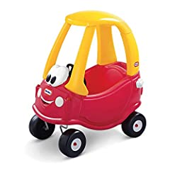 For generations - 30 years - children have been taking adventure and imagination on the road with one of the original ride on toys-the COZY COUPE New features include removable floor and handle on back for parent controlled push rides Designed with a...