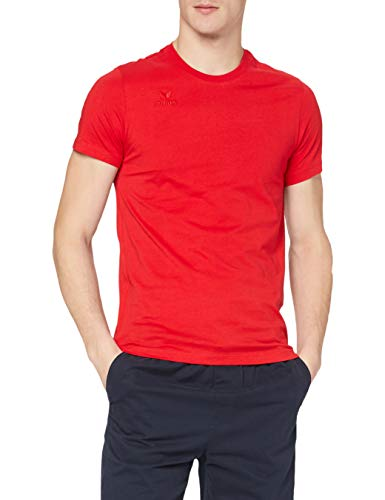 Erima Teamsport T-Shirt Homme, Rouge, FR : M (Taille Fabricant : M (48/50))