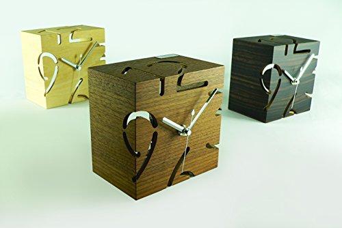 ヤマト工芸『PUZZLESTANDTYPES置き時計』