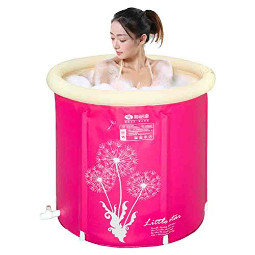 New Bathtub Folding Inflatable Outdoor Baby Swimming Pool Adult Children Bathing Barrel Family Bathr...