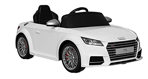 F Style Electric - Vo3382500blanc - Voiture Électrique pour Enfant - Audi - Tts Roadster Licence