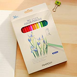 Colored Pencils - Nature Story Candy Color Pencils for Writing Drawing 12/18/24/36 Colors Pencil Set Student School Office...